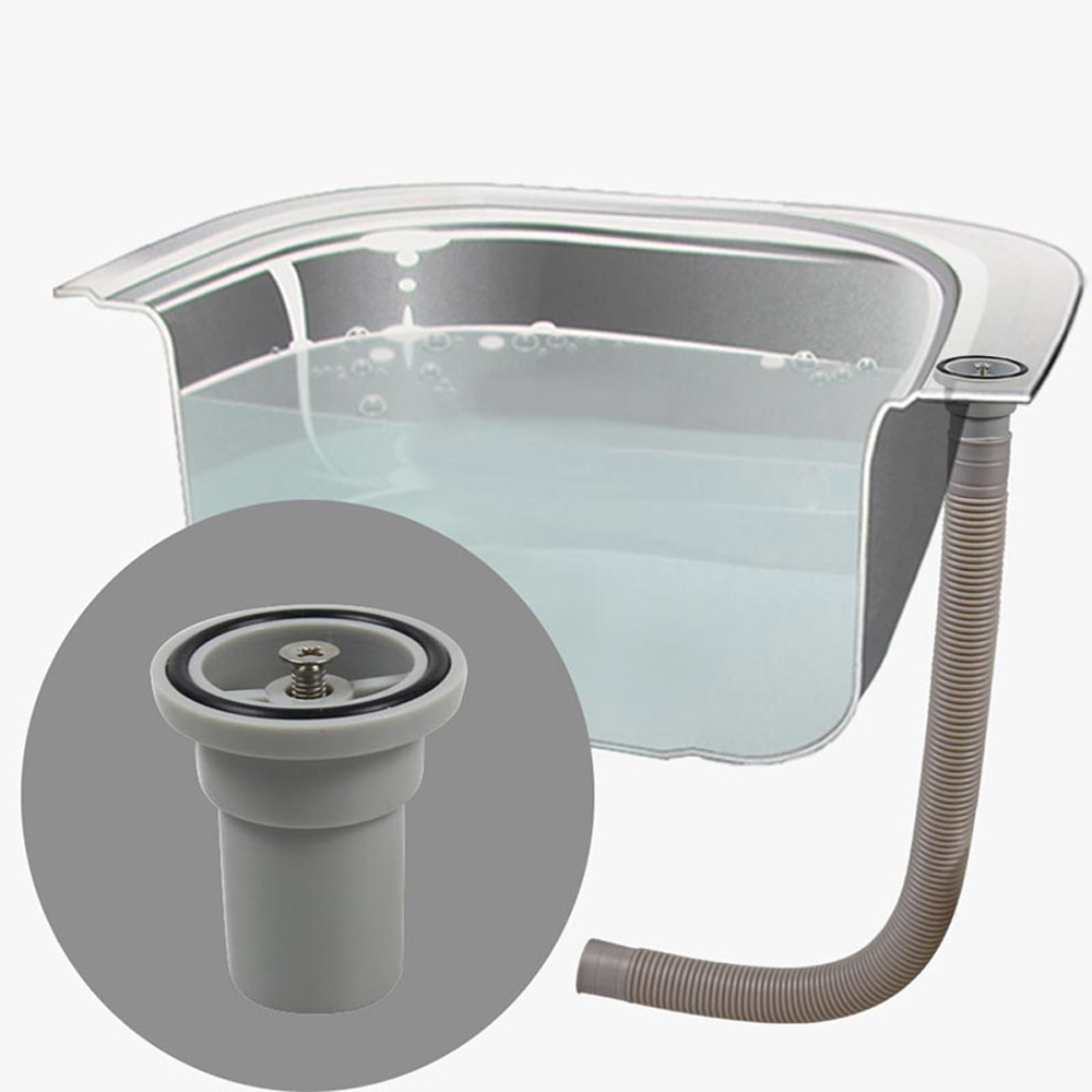Talea Sink Upside Drainage Camber Overflow with hose Sink Overflow ...
