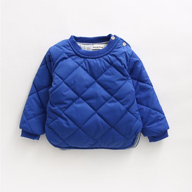 Los Niños calientes de Invierno Sudaderas Girls And Boys School Algodón Espesar Sudaderas Ropa Para Niños Outwear Caliente Traje De Año Nuevo