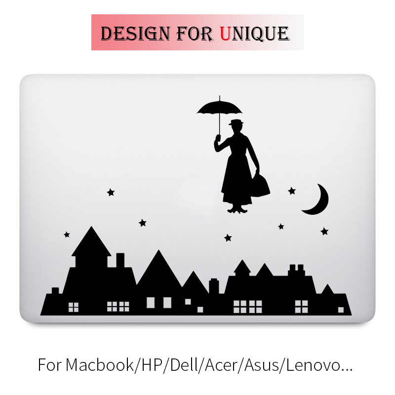 Mary Poppins Laptop Decal Notebook Sticker for font b Apple b font font b Macbook b