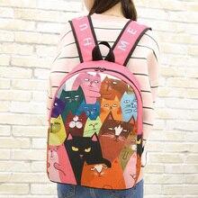 В Корейском стиле Harajuku рюкзак младших школьников школьная сумка девушка японский Стиль сумка Kawaii с рисунком Джокер рюкзак