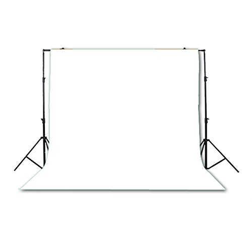 Photo Studio Background Cloth Backdrop Screen Non-woven Fabrics 3 x 3M White