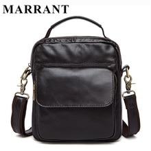 Hot Sale Men Bags Genuine Leather Bag Man Crossbody Handbag Fashion Men's Messenger Men Shoulder Bags Small Travel Male Bag 9073