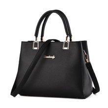 Large Simple Women Bag Designer Trendy Occident Style Concise font b Handbag b font Ladies Newest