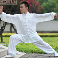 New chinese traditional elegant casual tai chi clothing silk white color tai chi uniform fashion tai chi clothing women AA032