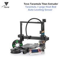 TEVO Тарантул 3D принтеры DIY kit impresora 3D принтеры и 2 нити Titan экструдер SD карты I3 3d TEVO 3D принтеры