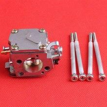 Бензопила части Карбюратора с Болты Подходят HUSQVARNA 61 268 272 Бензопилой Двигатель Двигатель Газ Carb