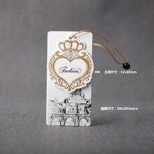 Custom thick high-grade garment tags