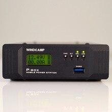 21Ah P-Box Мобильная электростанция батарея/Ham радио QRP FieldDay FT-817 FT-857 KX3