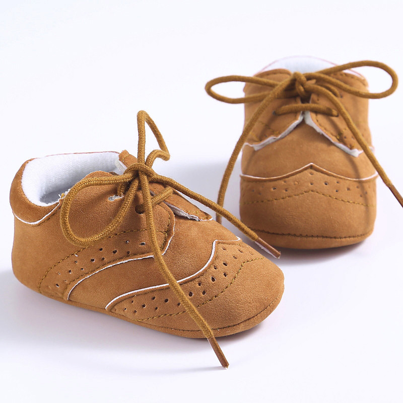 2017 Baby Toddler Soft Sole Leather Shoes Infant Boy Girl Toddler Shoes BFOF