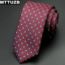 MTTUZB Men Suit Tie Men's Plaid Necktie Male Casual Formal Wear Business Suit Bowknots Ties Man Accessories Multicolor 6cm