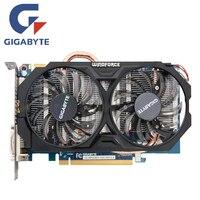 GIGABYTE GV N660WF2 2GD Video Card 192Bit GDDR5 GTX 660 N660 Rev 2 0 Graphics Cards