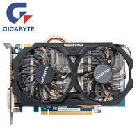 GIGABYTE GV N660WF2 2GD Video Card 192Bit GDDR5 GTX 660 N660 Rev 2 0 Graphics Cards