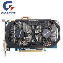 Gigabyte GV-N660WF2-2GD placa de vídeo 192bit gddr5 gtx 660 n660 rev.2.0 placas gráficas para nvidia geforce gtx 660 hdmi dvi cartões