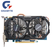 GIGABYTE GV-N660WF2-2GD Video Card 192Bit GDDR5 GTX 660 N660 Rev.2.0 Graphics Cards for nVIDIA Geforce GTX 660 Hdmi Dvi Cards