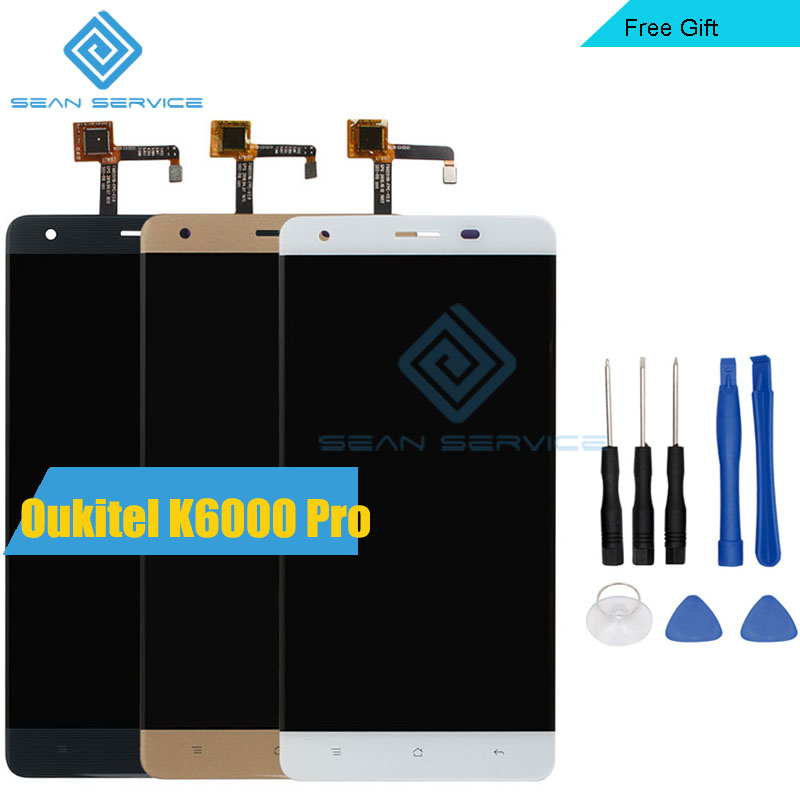 Para Oukitel K6000 Pro Pantalla LCD de teléfono Móvil LCD y TP Pantalla Táctil D