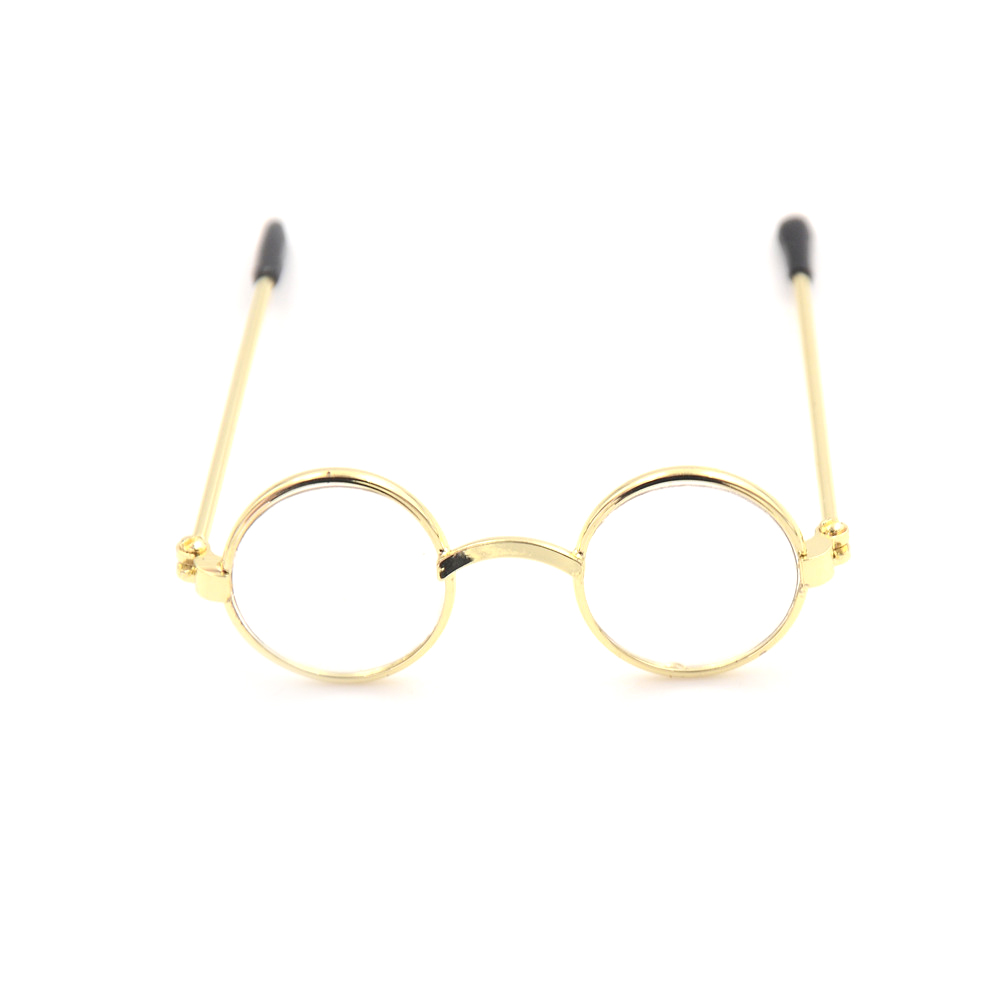 1Pcs Doll Accessories Round-Shaped Round Glasses Colorful Glasses Sunglasses Suitable For 18Inch United States Dolls
