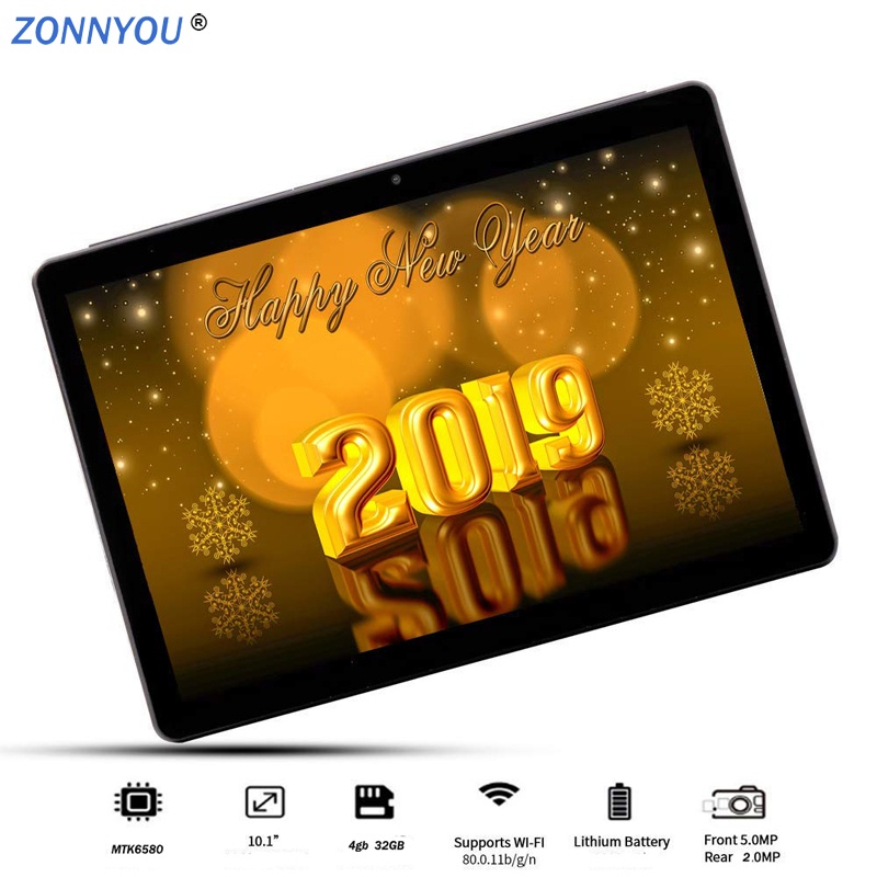 2019 new 10 1inch Tablet PC Android 8 0 4GB RAM 32GB ROM 3G Phone Call