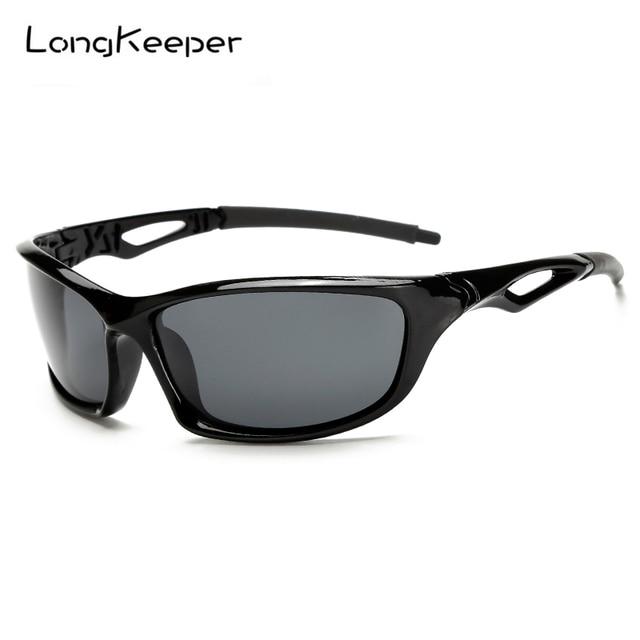LongKeeper 2017 Novos óculos de Sol Dos Esportes Polarizados Óculos Oculos  Gafas Ciclismo Da Bicicleta Da 2b04f04cb4