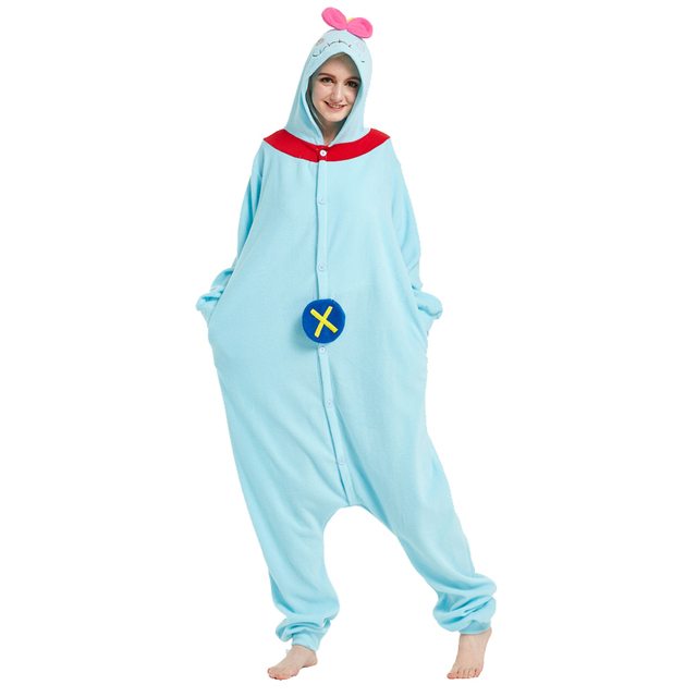 a3632a27688 US $29.77 |Women Men Onesies Novelty Pajamas Pyjamas Jumpsuit Nightwear  Carnival Costumes Adult Onesie Unisex Fleece Anime Terry Scrump-in Anime ...