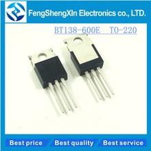 10pcs/lot New BT138-600E TO-220 BT138-600 12A/600V four-quadrant triacs, sensitive gate