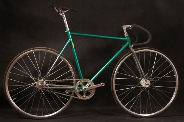 fixie bicycle fixed gear bike vintage chrom moly fixed gear vintage