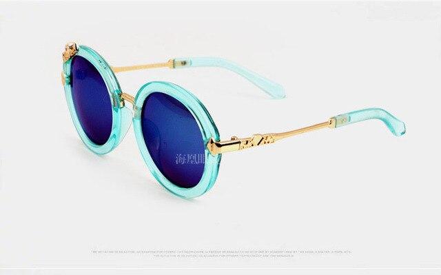 Round Mirror Kids Sunglasses  1
