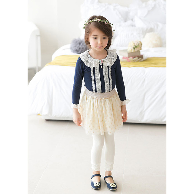 Baby Clothing Children O-Neck Royal Blue Long Sleeve T-Shirt Kid  Clothes Fashion all-match Casual Comfortable Full cotton 2