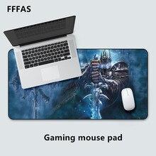 FFFAS большой геймер игровой коврик для мыши коврик кибер-сетевой игровой резиновый коврик для мыши стол ноутбук великолепный XL подушка