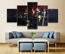 Overlord Movie Wall Art Canvas Painting 5 Piece Modern HD Print For Living Room Artwork