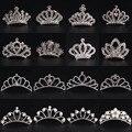 Gorgeous Mini Crystal Rhinestone Diamante Bridal Princess Crown Hair Comb Tuck Tiara Ball Party Wedding Women Girl Gift Jewelry