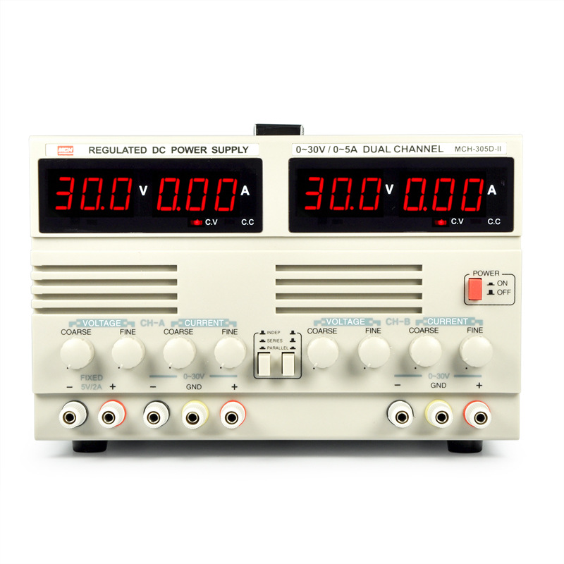 MCH-305DII (30V  5A) Hot selling Adjustable DC power supply multifunction digital display adjustable dual power supply MCH305D