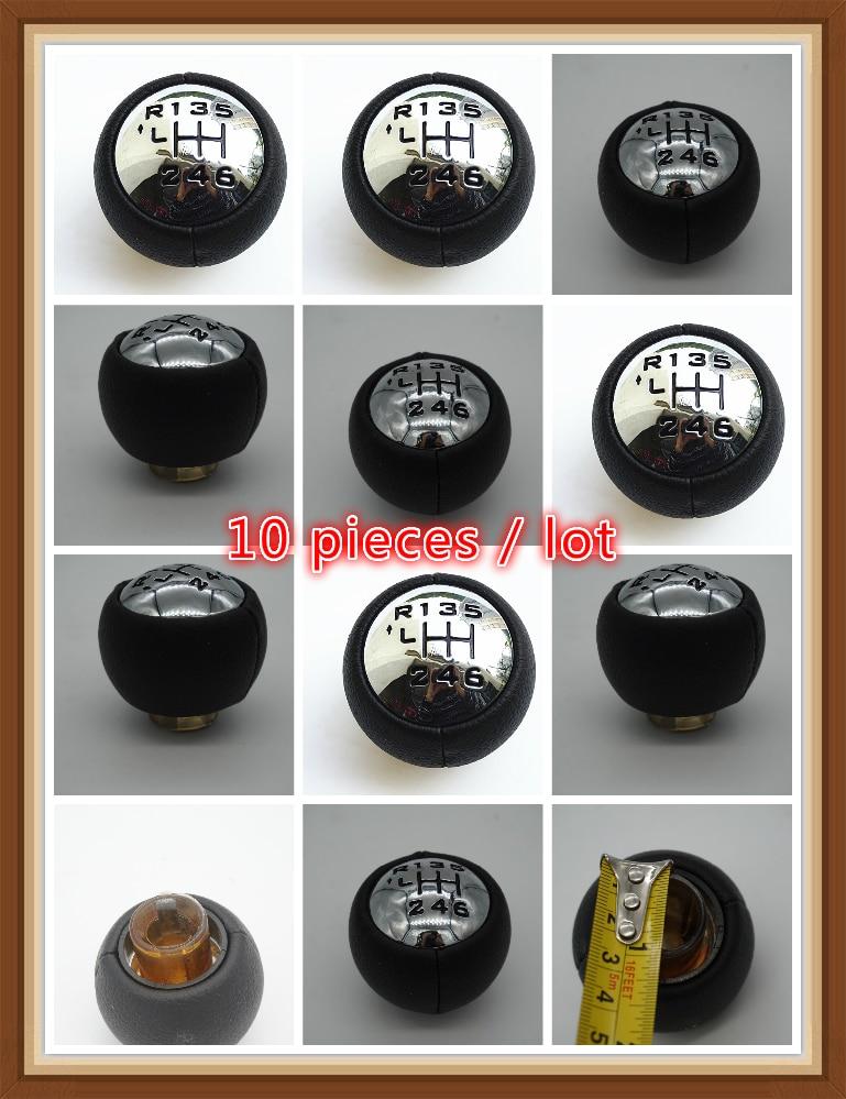 10 pièces/lot pour PEUGEOT 307 308 3008 407 5008 807 PARTENAIRE B9 TEPEE Pommeau de levier De Vitesses citron C3 A51 C4 C4 Picasso c8 Berlingo b9