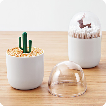 Decorative Q Tip Dispenser