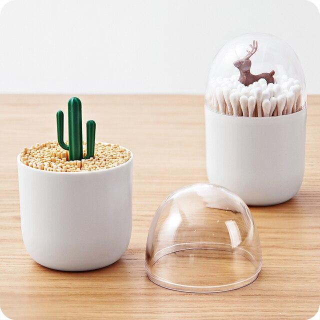 Decorative Q Tip Dispenser
