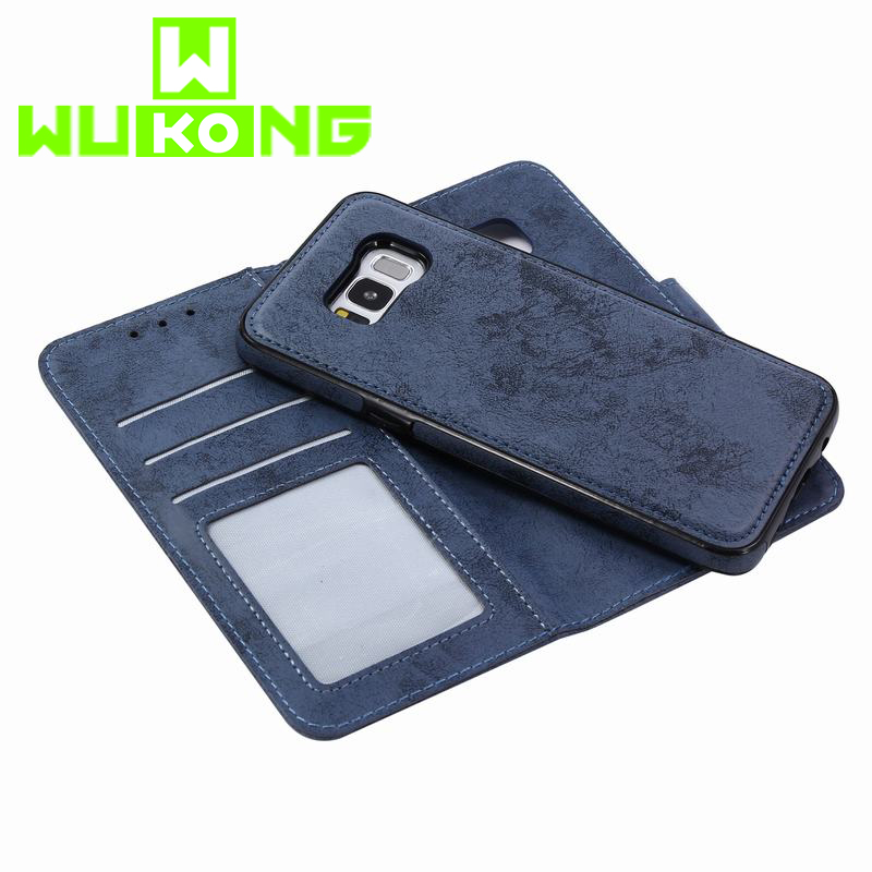 Luxury For <font><b>Samsung</b></font> Note 8 S9 S8 Plus S6 <font><b>S7</b></font> edge <font><b>Case</b></font> Leather Wallet Magnetic Cover For Galaxy Note 9 <font><b>Case</b></font> 2 in 1 <font><b>Phone</b></font> <font><b>Cases</b></font> image