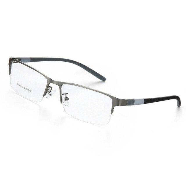 2018 Mode Titane sans monture lunettes cadre Marque designer Hommes Lunettes  costume lunettes de lecture optique f063b1082ef9