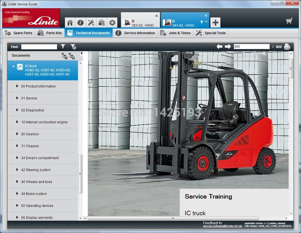 Linde Service Guide LSG 5.2.2  update to U081 [2017] and Update 0130 [12.2018]|linde| |  - title=