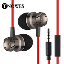 High Quality Stereo Earphone Headphones Handsfree In-ear Headset 3.5mm Mic Earbuds For All Mobile Phone