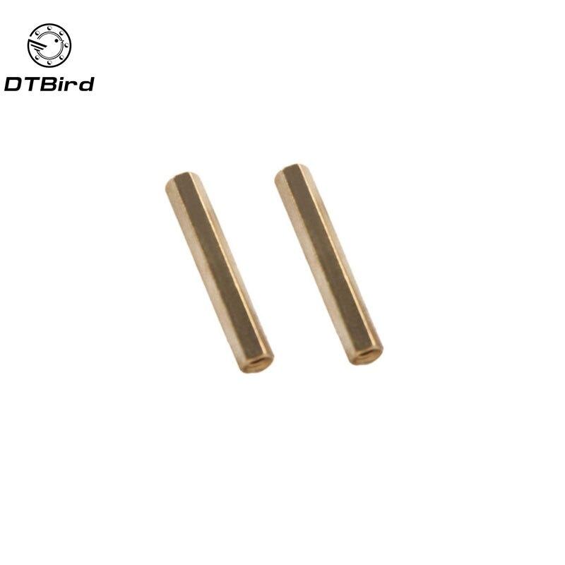 M2.5 2.5 Mm 9 longitudes De Nylon De Plástico De Cabeza Hexagonal plenamente con rosca de tornillo // Pernos