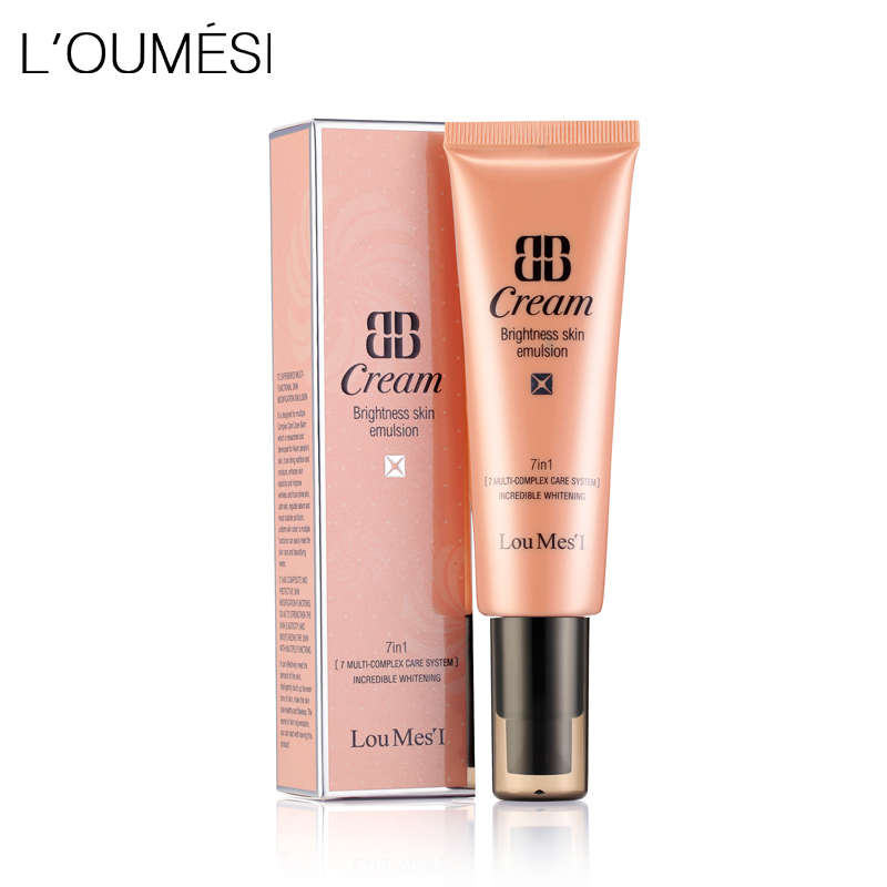 Loumesi bb cc cream face care foundation 7 in one  base makeup Perfect Cover Facial Whitening & Concealer & Moisturizing