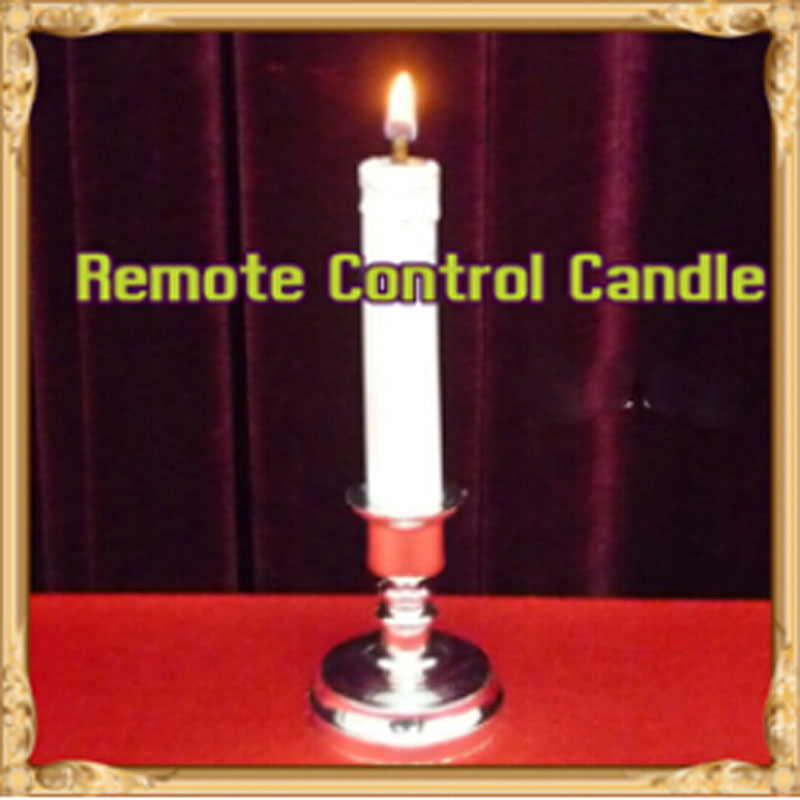 Remote Control Candle - magic tricks,accessories,prop,illusion,mentalism,gimmick horizontal card rise magic tricks stage card accessory gimmick props mentalism classic toys