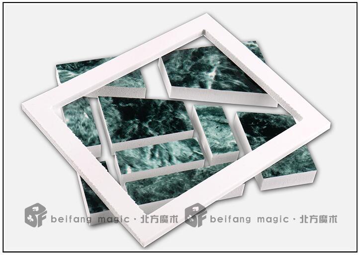 Beifang Магия-блок головоломки площадь никогда не меняется головоломки Магия фокусов реквизит