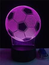 Lampka 3D Piłka