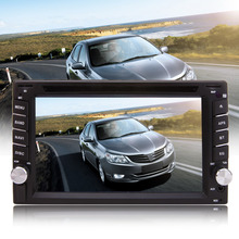 6.2 inch 2 Din Car Stereo DVD CD Player 800*480 HD Screen Car GPS Navigation with original western europe map in 8G meory card