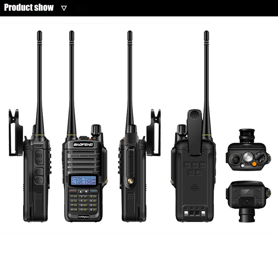 Baofeng UV-9R Plus Handheld Walkie Talkie 8W 2800mAh Dual Band IP67 Waterproof Two Way Radio hf Transceiver UV 9R camping (18)
