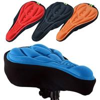NEW 3D Soft Silicone Cycling Bicycle Bike Cover Saddle Breathable Mat Cushion Seat Gel Cushion Soft Pad Bicycle Bike Accessories|Bicycle Saddle| |  -