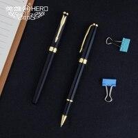 Бесплатная доставка Лидер продаж оригинальный Hero шариковая ручка офисная, деловая роскошные подарочные ручки Hero 1502