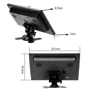 """Podofo 10,1 """"LCD HD монитор и цветной экран компьютера 2-канальный видео вход монитор безопасности с BNC / AVI / VGA / HDMI"""