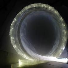 Сверкающее боковое излучение PS волоконный кабель; 200 шт 0,75 мм 2,5 м длинные PS волокна