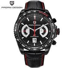 Relogio masculino 2017 мужчин Элитный бренд Pagani Дизайн многофункциональные спортивные часы погружения 30 м Хронограф Военная кварцевые часы
